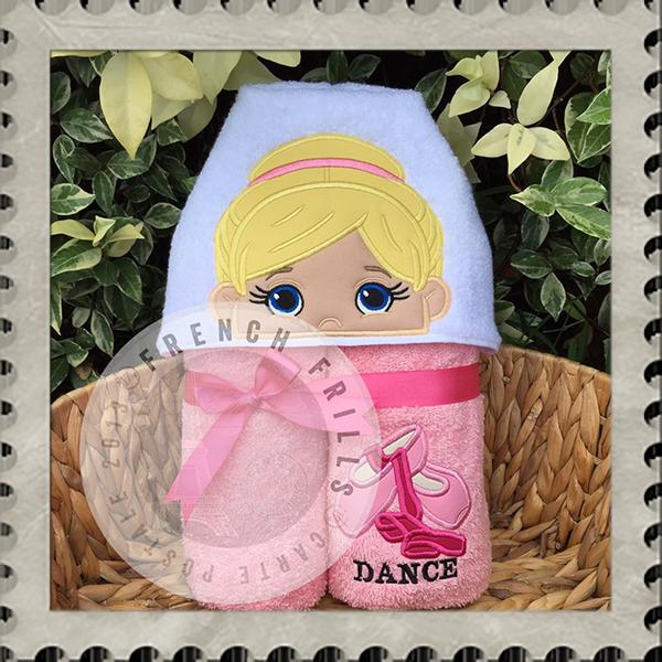 Ballerina Sweet N Sassy Embroidery Designs