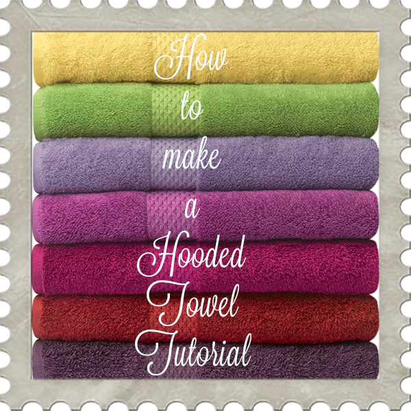 How to Construct a Hooded Towel